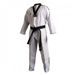 Uniforme Taekwondo Modello Adi-Fighter 3III collo nero White Adidas - 10352040