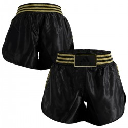 Pantaloncino Thai Boxe in satin Black Adidas