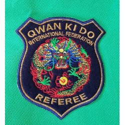 Logo Ufficiale di gara Referee IQKDF 2019 Qwan ki do AXMSports