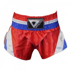Pantaloncino Muay Thai in satin Thailand Red Vandal - 15503030R