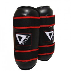 Paratibie in vinile Pro Kick Boxing Black Vandal - 35503020