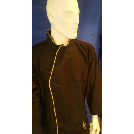 Vo Phuc Slim Fit uniforme Qwan ki do Black AXMSports - AX0088