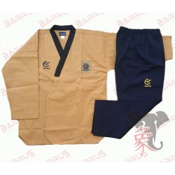 Uniforme Taekwondo Modello Poomsae Highdan WTF Blue Barrus - AM246