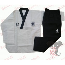 Uniforme Taekwondo Modello Poomsae WTF Black Barrus - AM225