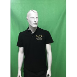 Polo Officiel Qwan ki do Black AXMSports - AX0027