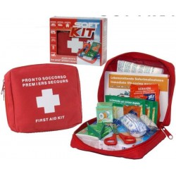 Borsa Medica 626 Set Kit di pronto soccorso Softkit - AX0212