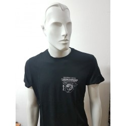 Tshirt Qwan ki do made in cotton Gandia 2018 Black AXMSports
