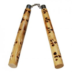 Nunchaku Long Gian Catena in rattan