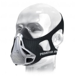 Phantom Training Mask Silver Phantom Athletics - PHMASK1001