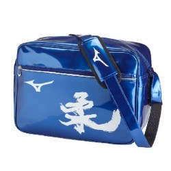 Borsa lucida Judo Medium Blue Mizuno