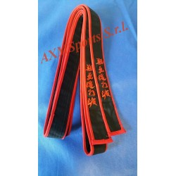 Belt black with a red border Dang Qwan ki do AXMSports