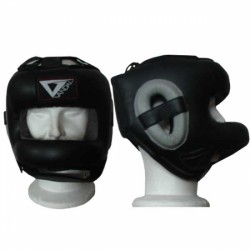 Casco High Protection in pelle/amara Vandal