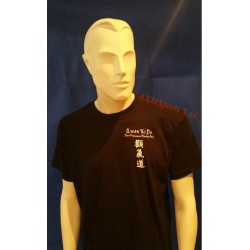 Tshirt Qwan ki do of cotton Model 3 Black AXMSports - AX0161