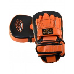 Guanto Master Colpitore in pelle Black/Red SK - SK-609