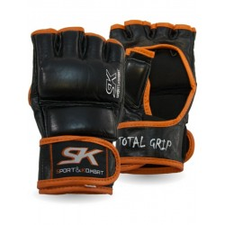Guanto MMA Total Grip in pelle Black SK - SK-160